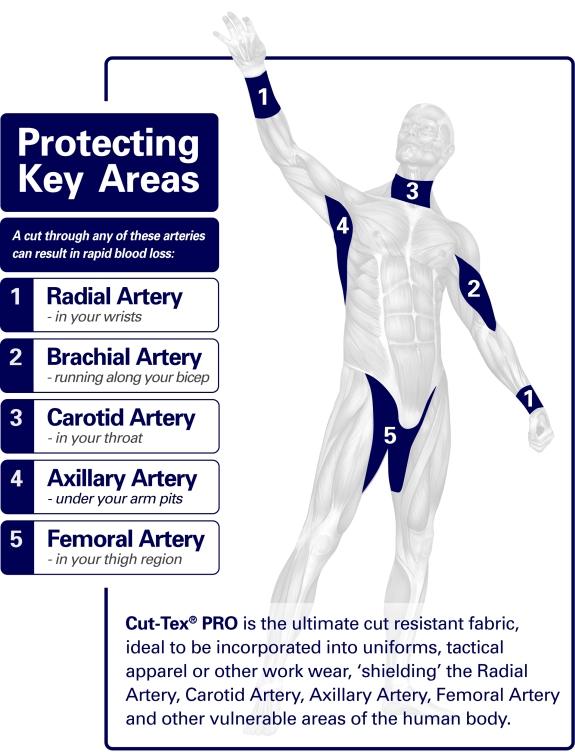Cut-Tex PRO Protecting Key Areas